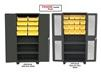 PLASTIC BIN 14 ga. WELDED CABINETS - SOLID & CLEARVIEW MODELS